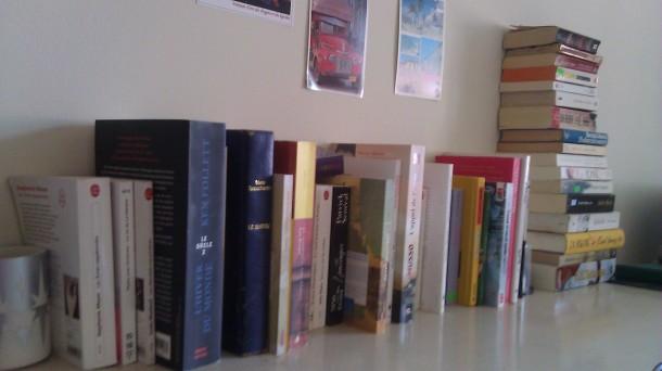 Beaucoup de livres lus, encore beaucoup d'autres à lire!